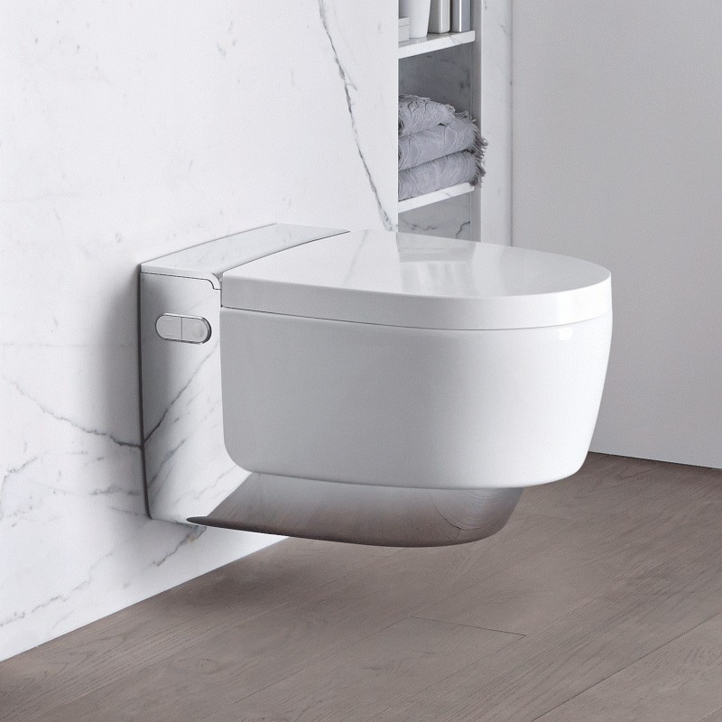 geberit aquaclean mera classic wc koljka z funkcijo bideja tooaleta. Black Bedroom Furniture Sets. Home Design Ideas